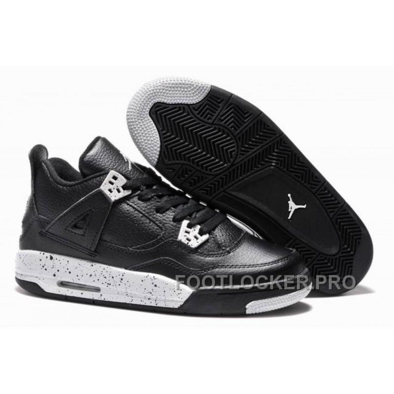"quality design 45e94 c12c1 Girls Air Jordan 4 ""Oreo"" For Sale Super Deals"
