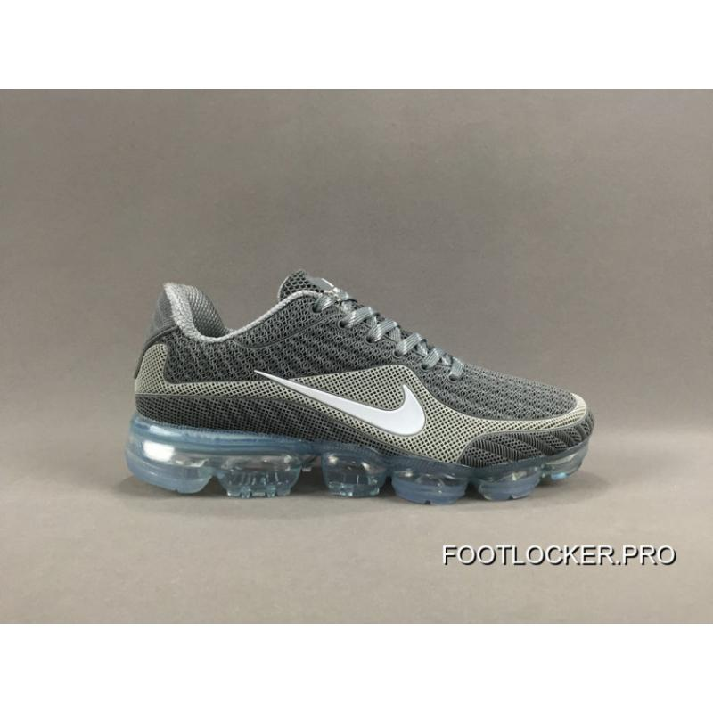 separation shoes 225c8 39698 NIKE AIR VAPORMAX FLYKNIT 2018 Grey White Discount