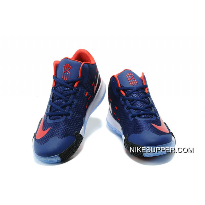 superior quality 2939c 06470 Nike Kyrie 4 Navy Blue/Red White Online