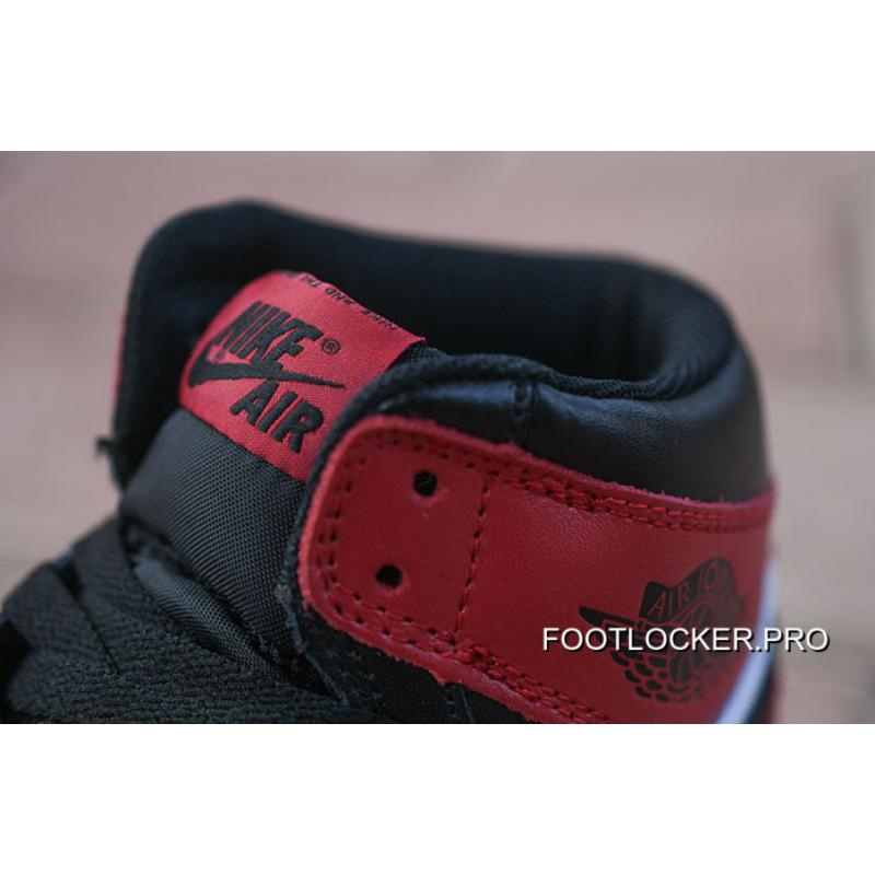 promo code 570e5 87395 ... discount nike air jordan 1 aj1 is action leather toe black red