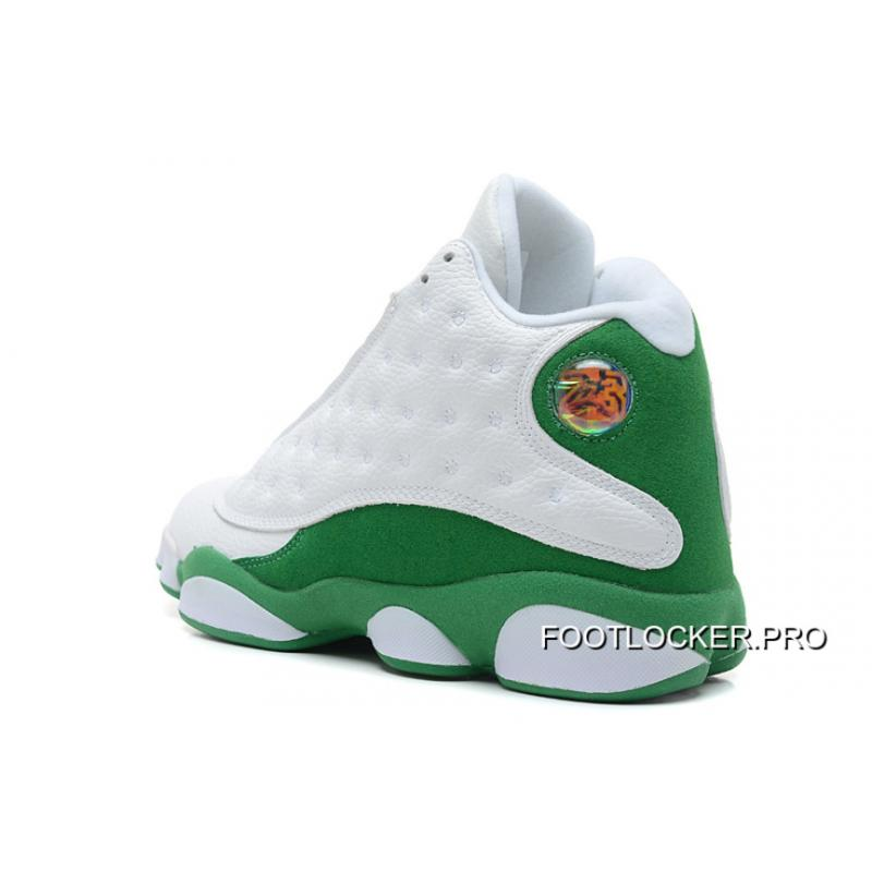 "hot sale online 1d4ad c2dff ... Air Jordans 13 Retro ""Ray Allen Three-Point Record"" White Clover Top ..."