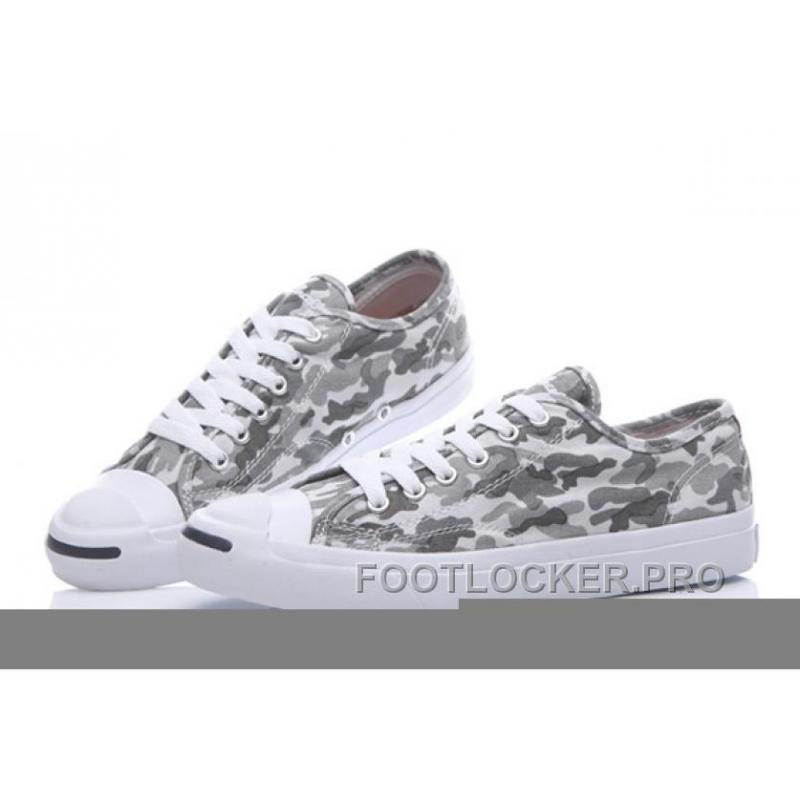 d76b8ab8d23d Grey CONVERSE Jack Purcell Profile Camo Slip Canvas Low Online ...