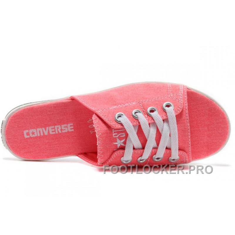 3cb6e9bd24cc ... Pink All Star Light CONVERSE Slippers Summer Collection By Avril  Lavigne Canvas Super Deals ...