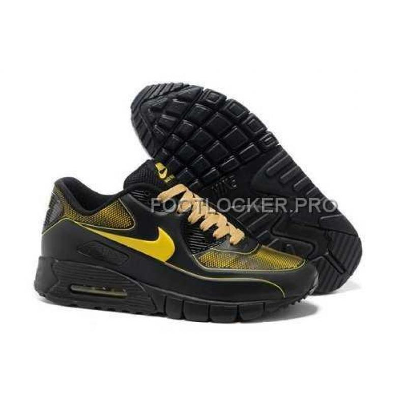 meilleures baskets 6f7c0 c414d Discount Nike Air Max 90 Current VT LSR Womens Black Yellow