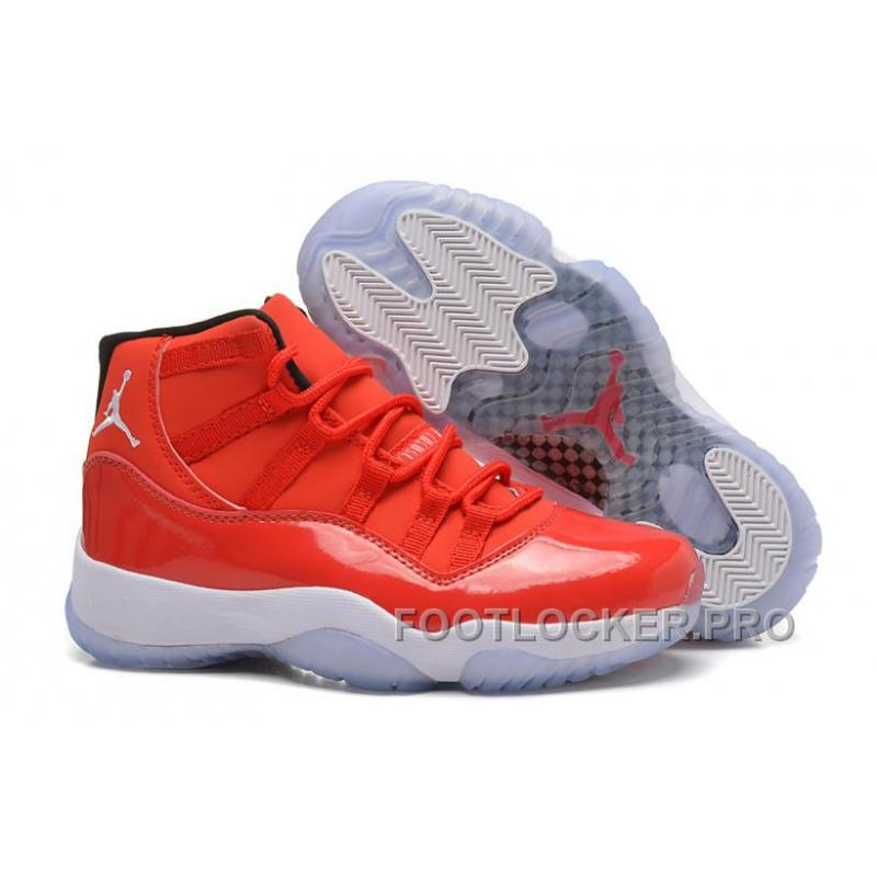 """hot sales 5dfe1 797a2 Girls Air Jordan 11 Retro Carmelo Anthony """"Red"""" PE For Sale New Release"""
