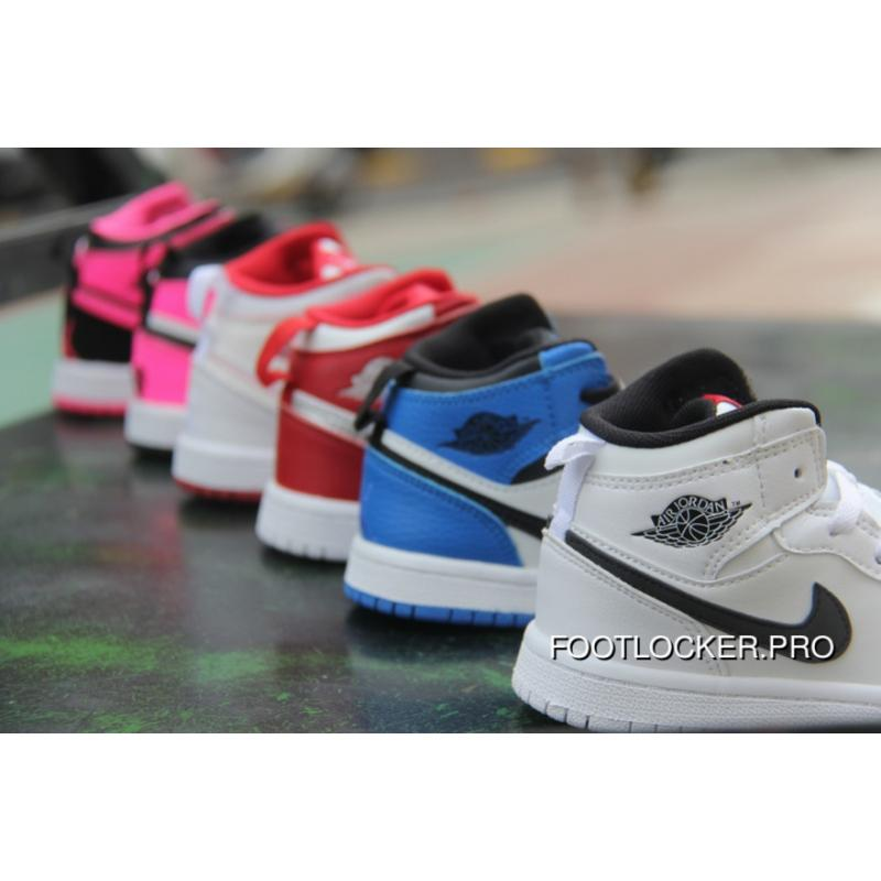 various colors 26f7a b8027 Air Jordan 1 Jordan One AJ1 Kids Shoes 2017 Winter Online