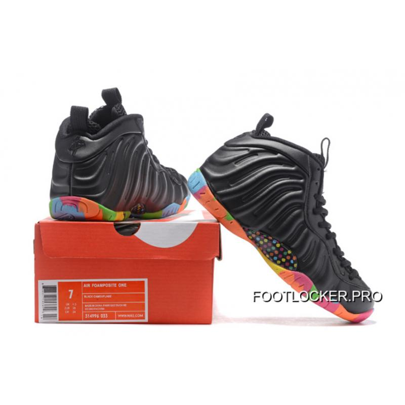 best loved f10ba 2f3f8 New Year Deals Nike Air Foamposite One Black And Colorful