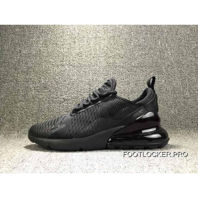 new style 84e11 c96bd Copuon Nike Air Max 270 New Followed By Half A Palm Zoom Jogging Shoes Men  All Black Darth Vader Ah8050-005