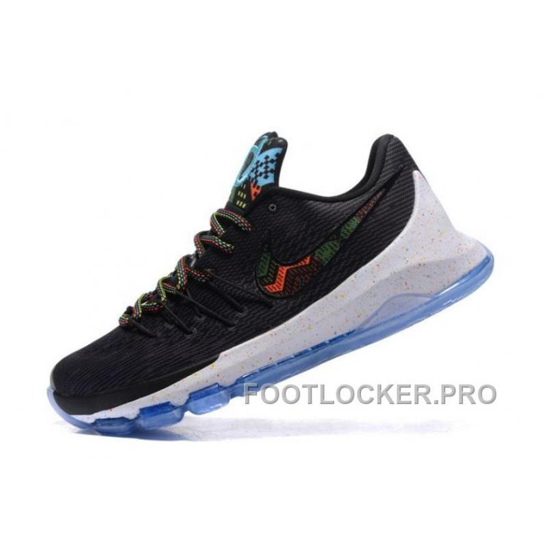 "cfa932bb1bfd ... Nike KD 8 ""BHM"" Black Multi-Color Cheap To Buy ..."