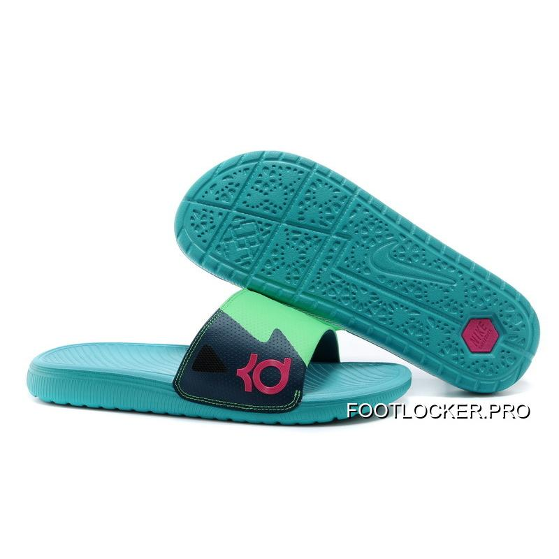 the best attitude 11dcb 0f905 Nike KD Slide Slippers May Green Best