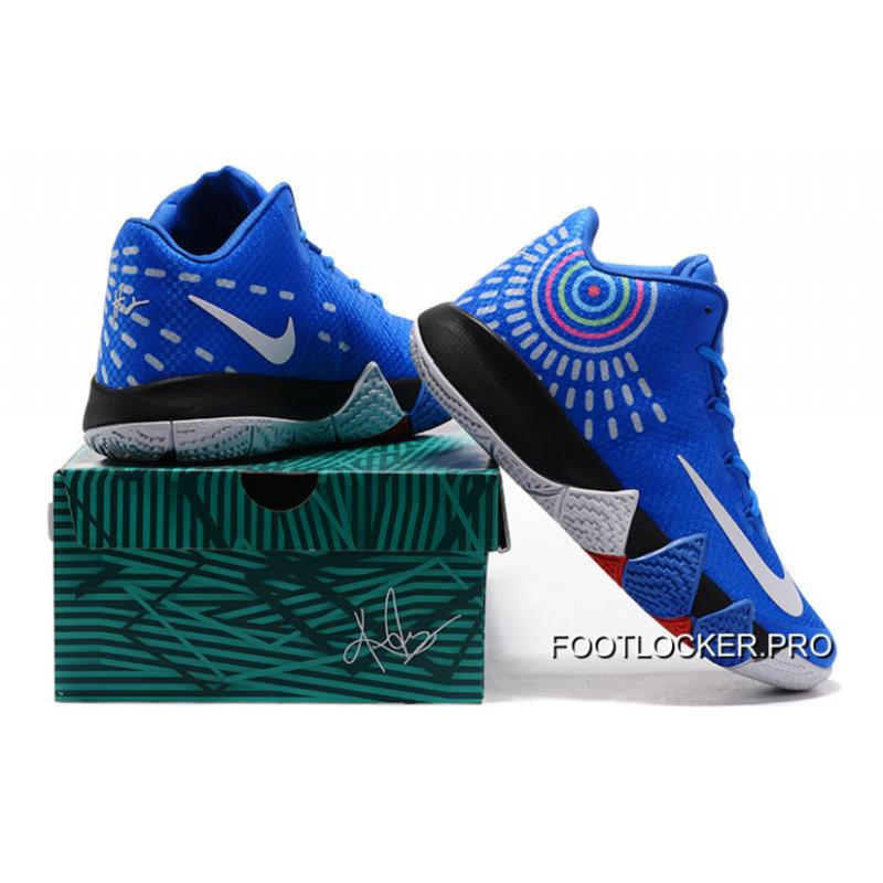 buy popular 6516d 558dd Nike Kyrie 4 Mens Basketball Shoes Royal Blue Cheap To Buy
