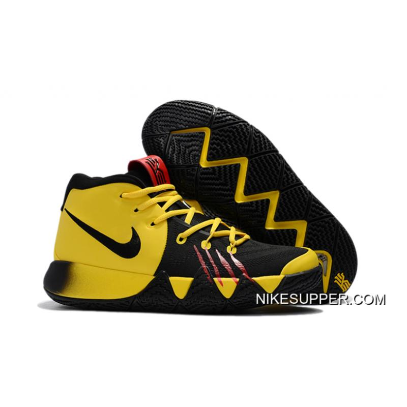 "info for 283c2 3b30b Nike Kyrie 4 ""Bruce Lee"" Tour YellowBlack Discount ..."