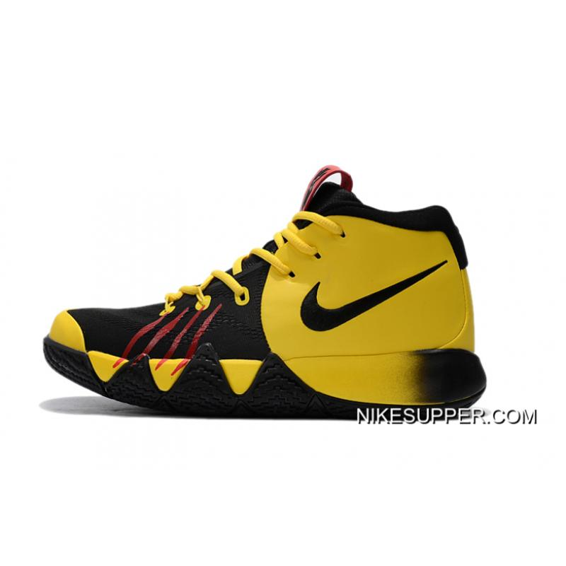 """online store 547ee 8cc81 Nike Kyrie 4 """"Bruce Lee"""" Tour Yellow/Black Discount"""