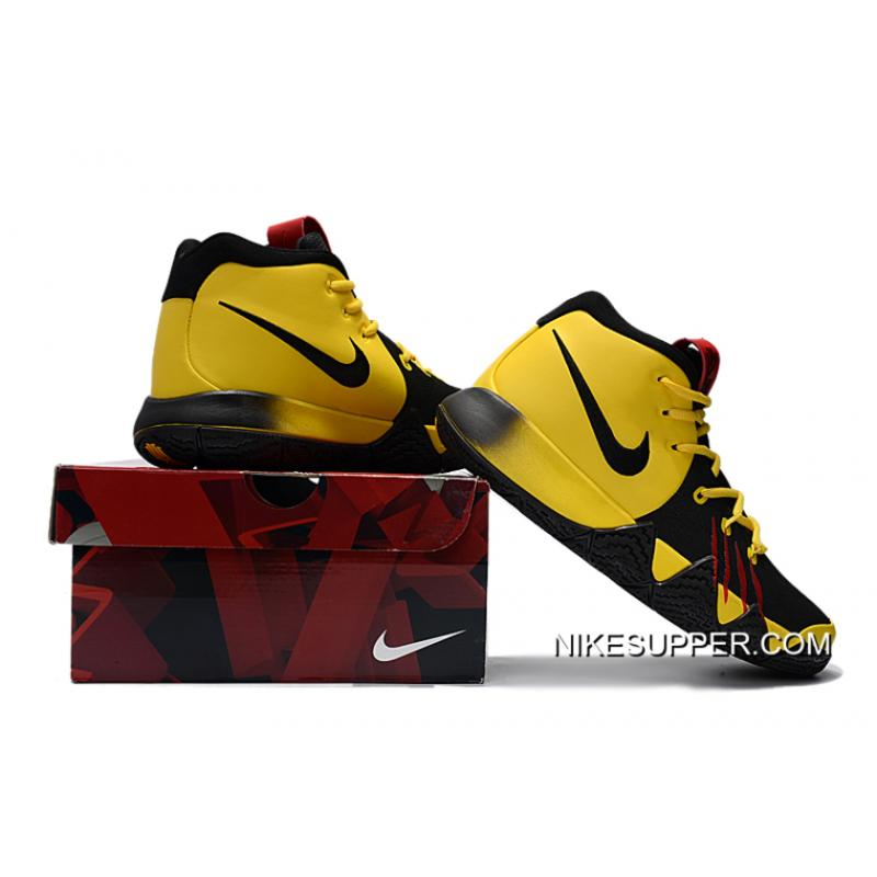 "online store e609e 351a6 Nike Kyrie 4 ""Bruce Lee"" Tour Yellow/Black Discount"
