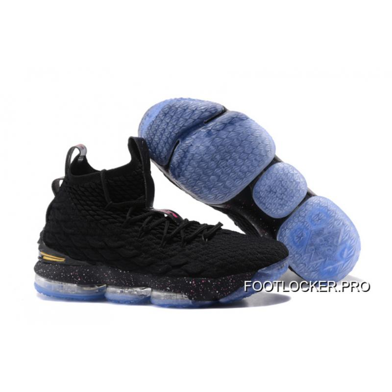 outlet store f94fb 739ab Top Deals Nike LeBron 15 Black/Phantom/Metallic Gold