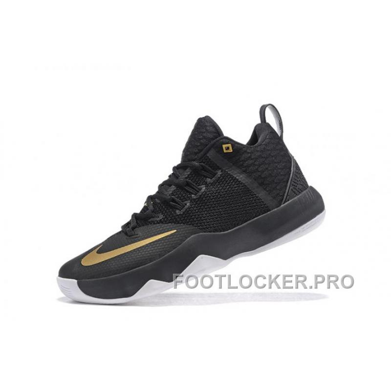 finest selection 345e3 26a69 ... Nike Lebron Ambassador 9 Black Gold Men Online