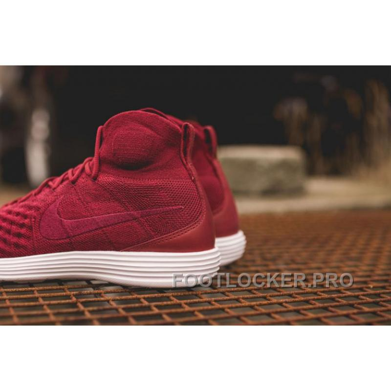 low priced 0dfe7 48839 Nike Lunar Magista II Flyknit Red White 852614-600 For Sale