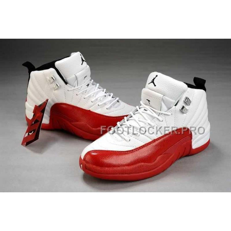official photos 047af 45f54 Nike Air Jordan 12 Womens Red White Shoes New ...