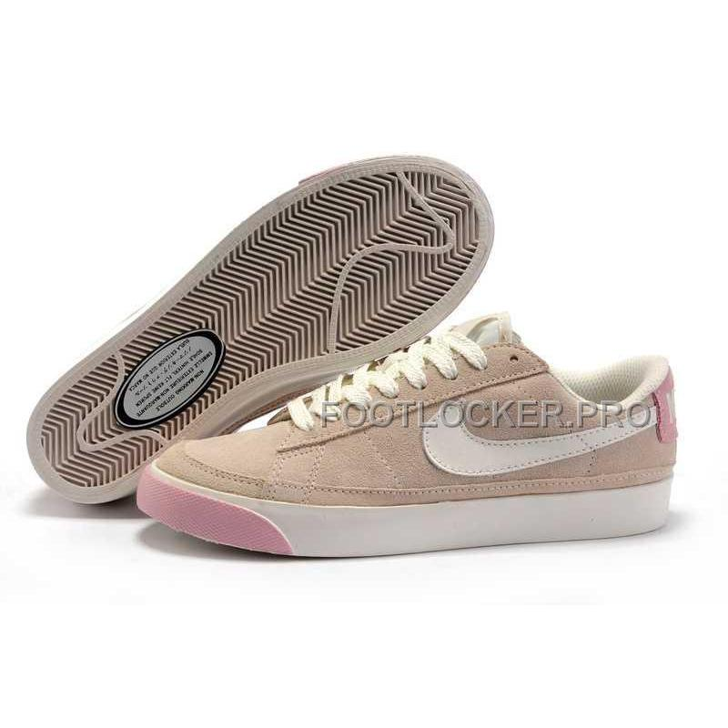new concept bbbf9 c4d72 Nike Blazer Low Classic Womens Pink Rice White Shoes Online ...