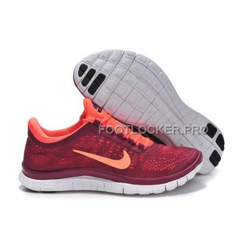 best authentic 782d1 84f5b Nike Free 3.0 V5 Womens Rose Red Orange Shoes New