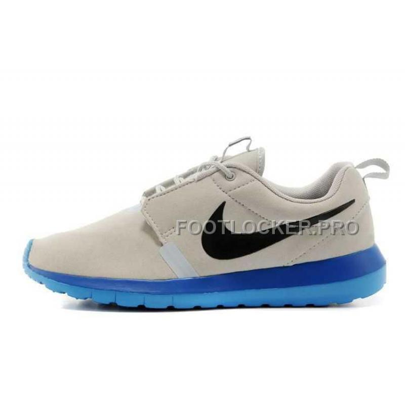 5d818a24cc8b Nike Roshe Run Anti Fur Mens 3M Reflective Grey Blue Shoes For Sale ...