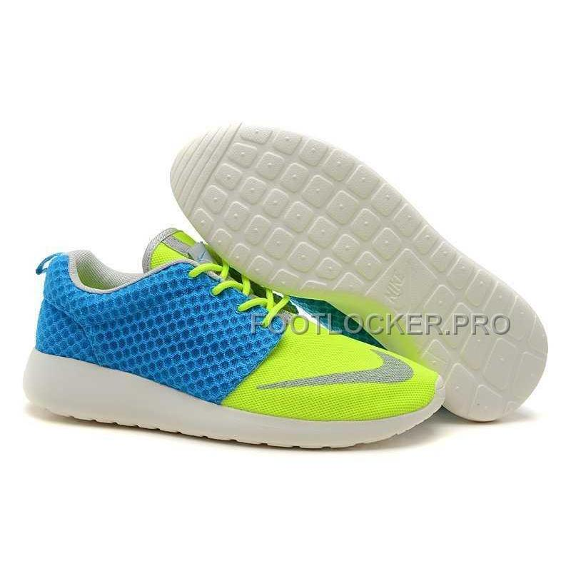 314f46898e20 Nike Roshe Run FB Yeezy Mens Blue Yellow Shoes For Sale ...