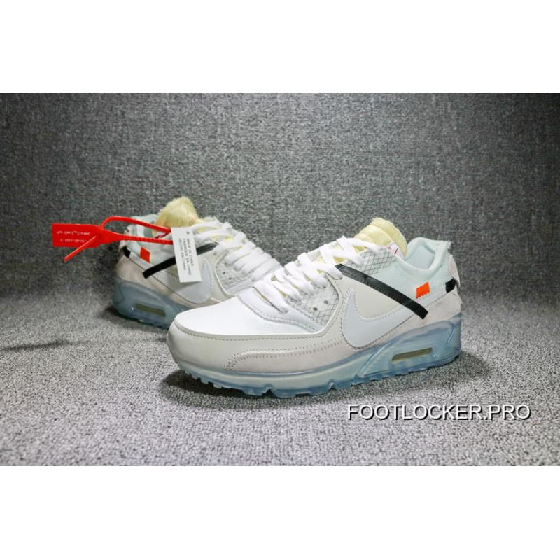 3816584e0efe62 Air Max 90 X Off-White AA7293-100 Mens Free Shipping ...