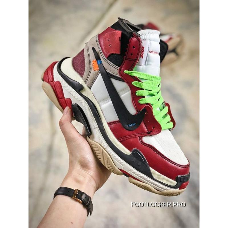 c7ae785a0ee8c3 2018 Free Shipping Men Off White X Nike Air Jordan Sneaker SKU 131206-275  ...