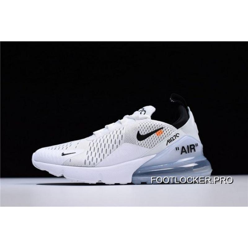 huge discount d2bf5 9aa8a Outlet Men OFF-WHITE X Nike Air Max 270 Running Shoe SKU:123712-322