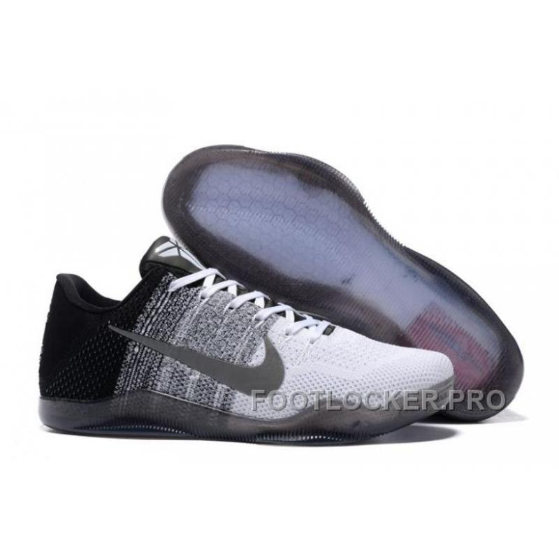 newest collection 7f5d5 2f4de Where To Buy Cheap Nike Kobe 11 White Black Flyknit Online Discount ...