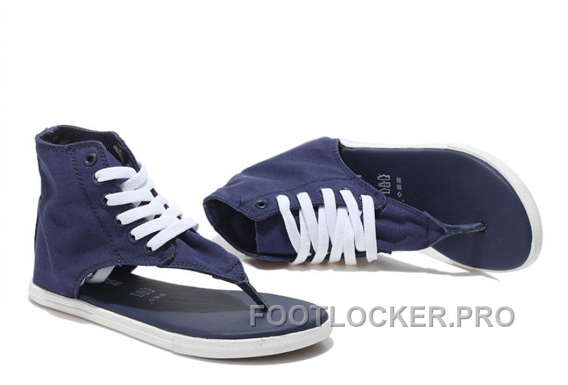 converse roman sandals high top blue | limited shoes