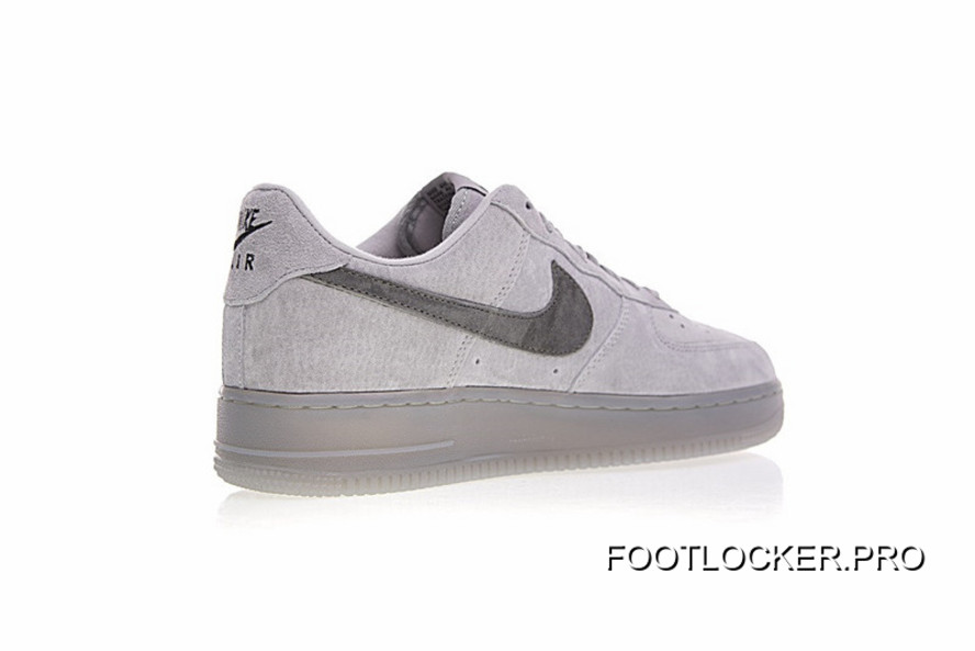 Hot Sale Colorways In Vancouver Canada Brand To Be Reigning Field X Nike Air Force 1 Low All match A Classic Gray Ash Sneakers Aa1117 118 Free