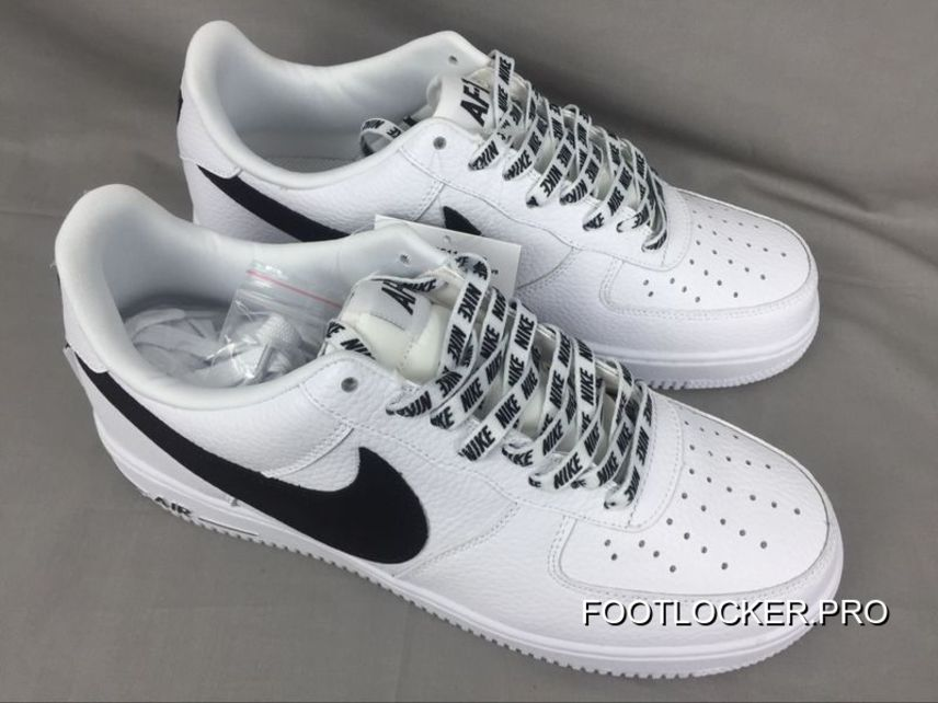 Royaume-Uni disponibilité 9ab6a 765a5 Authentic Nike Air Force 1 Bass Af1 X The Nba To Be White And Black