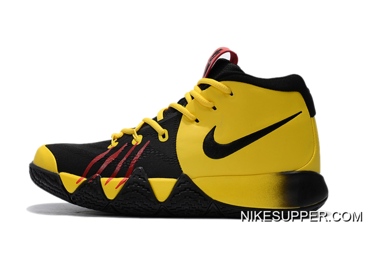 "online store eecb0 dac45 Nike Kyrie 4 ""Bruce Lee"" Tour Yellow/Black Discount"