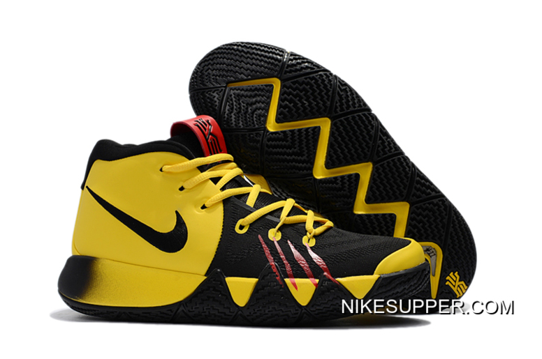 """online store eecb0 dac45 Nike Kyrie 4 """"Bruce Lee"""" Tour Yellow/Black Discount"""